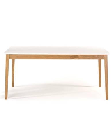 Jedálenský stôl Woodman Blanco, 165 x 90 cm