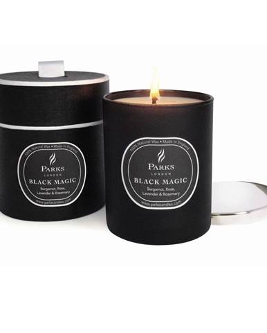 Sviečka s vôňou bergamotu a ruže Parks Candle London Magic, 50hodín horenia