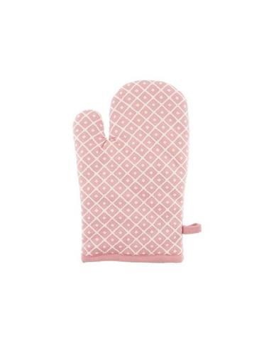 Ružová bavlnená chňapka Tiseco Home Studio Dot
