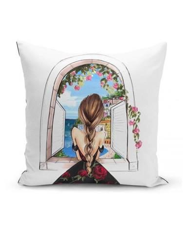 Obliečka na vankúš Minimalist Cushion Covers Samia, 45 x 45 cm