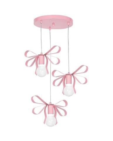 Ružové závesné svietidlo Homemania Emma Tres
