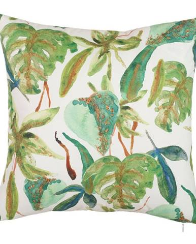 Obliečka na vankúš Mike&Co.NEWYORK Leafy Paradiso, 43 × 43 cm