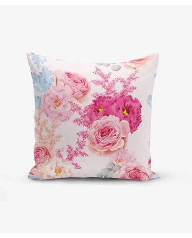 Obliečka na vankúš Minimalist Cushion Covers Flowers, 45 × 45 cm