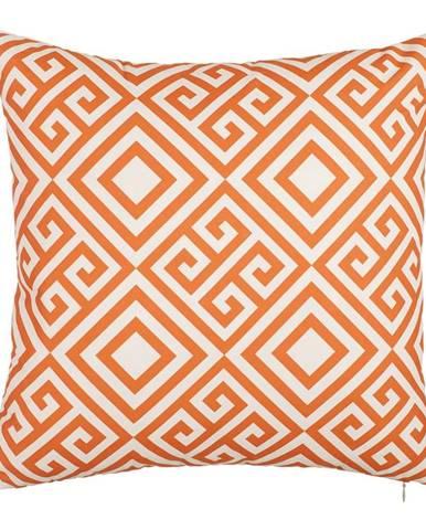 Oranžový poťah na vankúš Mike&Co.NEWYORK Summer Dream, 43 × 43 cm