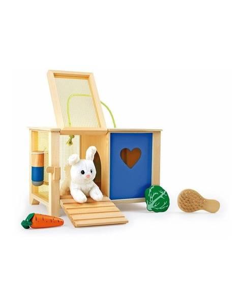 Legler Drevená králikáreň na hranie Legler Rabbit