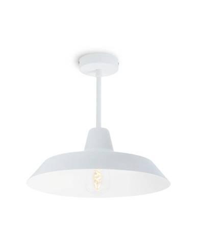 Biele stropné svietidlo Bulb Attack Cinco Basic