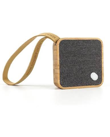 Bluetooth reproduktor Gingko Square Bamboo