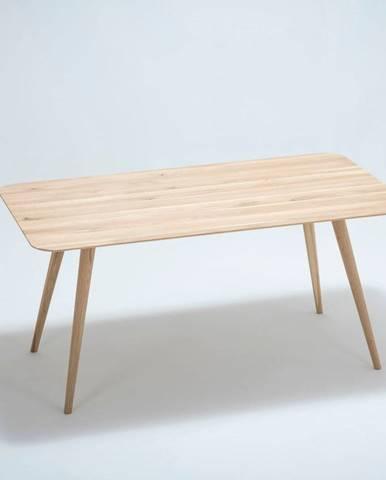 Jedálenský stôl z dubového dreva Gazzda Stafa, 160×90 cm