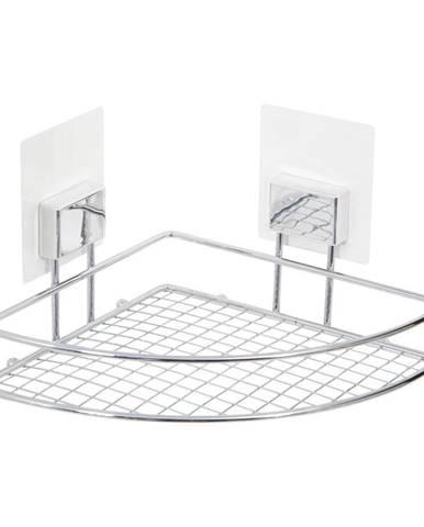 Nástenná rohová samodržiaca polička Compactor Bestlock Magic Bath Rack