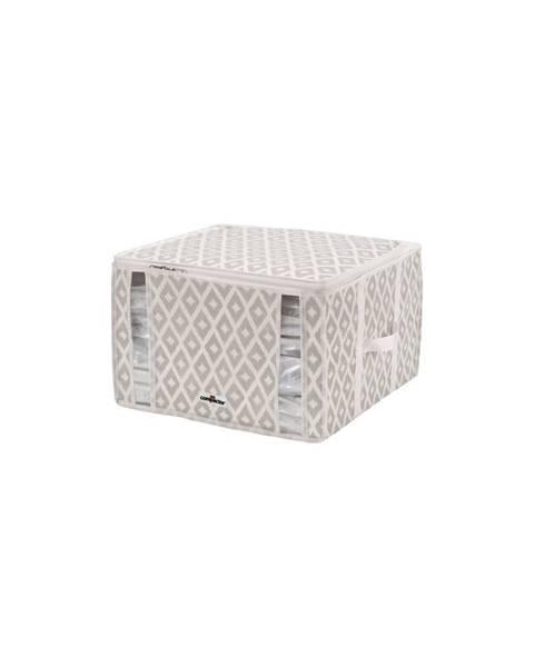 Compactor Béžový vakuový úložný box na oblečenie Compactor Signature Daman 3D Vacuum Bag, 125 l