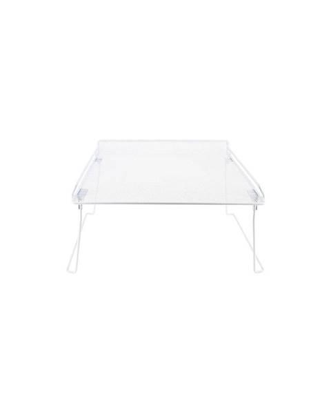 Compactor Biela rozložiteľná polička do skrine na oblečenie Compactor Stackable Rack