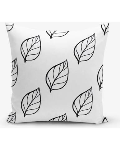 Obliečka na vankúš s prímesou bavlny Minimalist Cushion Covers Modernista, 45×45 cm