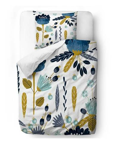 Obliečky z bavlneného saténu Butter Kings Cross the Flower, 135 x 200 cm