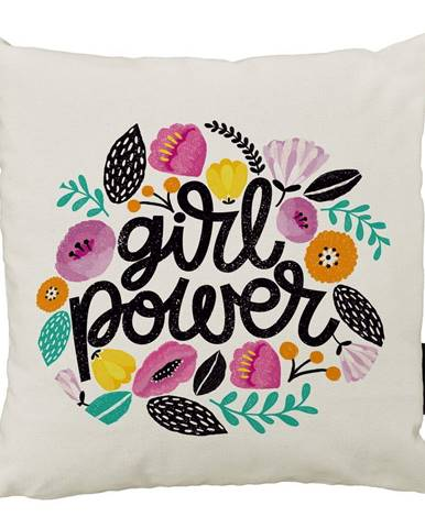 Vankúš Butter Kings z bavlny Girl Power, 45 x 45 cm