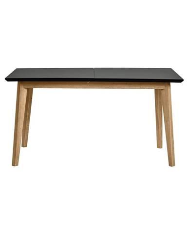 Rozkládací jedálenský stôl v dekore dubového dreva Marckeric Ceilan