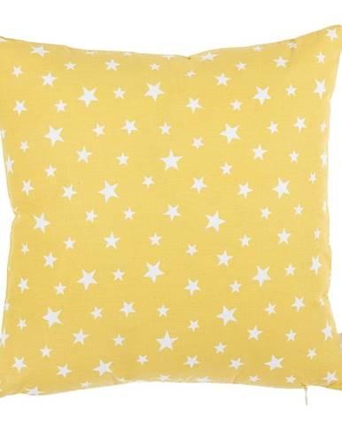 Žltá bavlnená obliečka na vankúš Mike&Co.NEWYORK Rujo, 35 x 35 cm