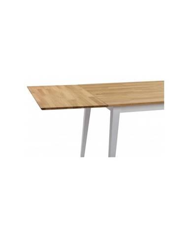 Dubová doska na predĺženie rozkladacieho dubového jedálenského stola Rowico Mimi