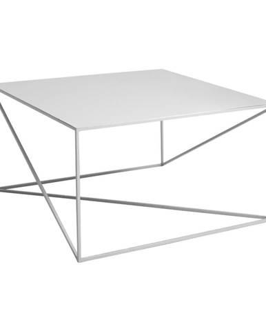 Sivý konferenčný stolík Custom Form Memo, 100 × 100 cm