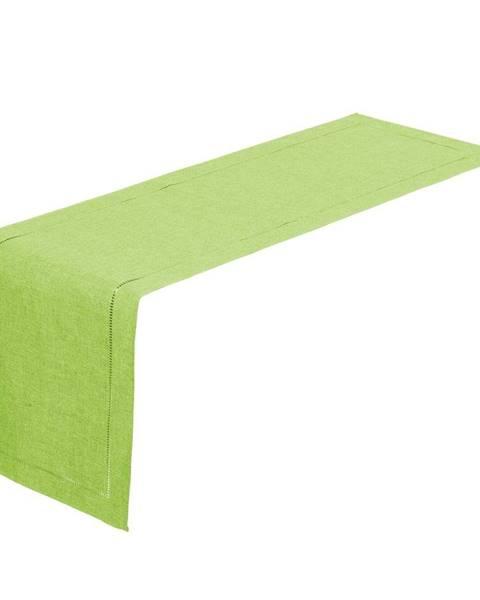 Unimasa Limetkovo-zelený behúň na stôl Unimasa, 150 x 41 cm