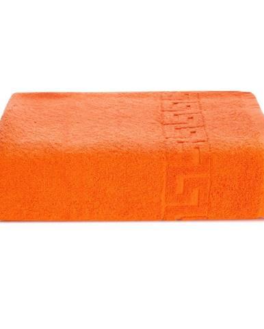 Oranžová bavlnená osuška Kate Louise Pauline, 70 × 140 cm