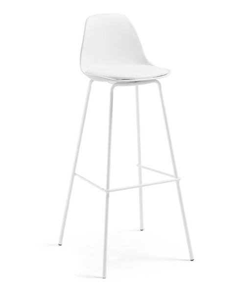 La Forma Biela barová stolička La Forma Lysna