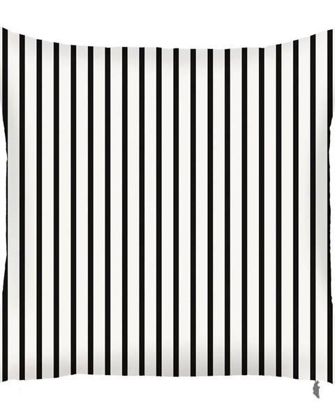 Apolena Čierno-biela obliečka na vankúš Mike&Co.NEWYORK Pinky Light Stripes, 43 × 43 cm