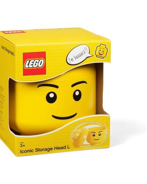 LEGO® Úložný panáčik LEGO® Boy, ⌀ 16,3cm