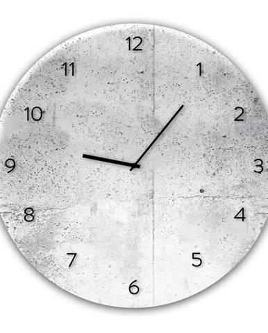 Nástenné hodiny Styler Glassclock Wall, ⌀ 30 cm