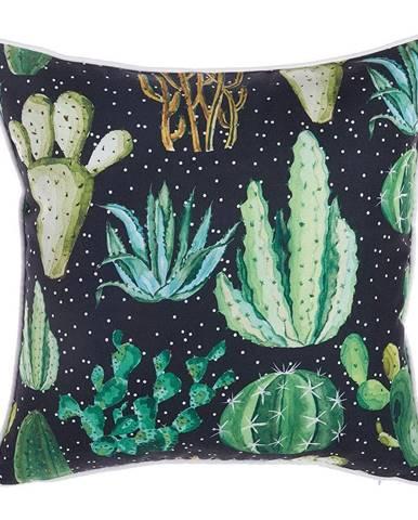 Obliečka na vankúš Mike&Co.NEWYORK Dark Cactus, 43 × 43 cm
