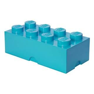 Azúrovomodrý úložný box LEGO®