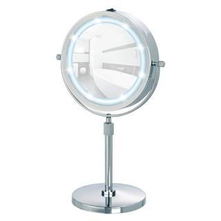 Zväčšovacie stolové zrkadlo s LED svietidlom Wenko Lumi