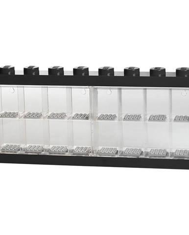 Čierna zberateľská skrinka na 16 minifigúrok LEGO®
