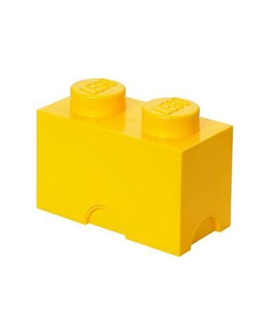 Žltý úložný dvojbox LEGO®