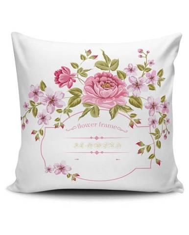 Vankúš s prímesou bavlny Cushion Love Calerto, 45 × 45 cm