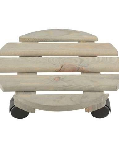 Podložka pod kvetináč z borovicového dreva Ego Dekor, ⌀ 29 cm