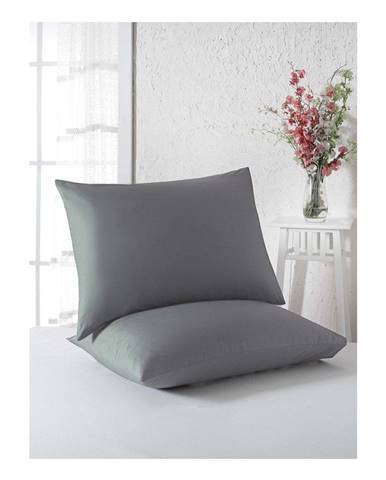 Sada 2 obliečok na vankúše z bavlny, 50× 70 cm
