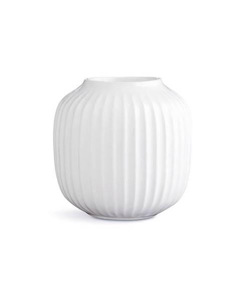 Kähler Design Biely porcelánový svietnik na čajové sviečky Kähler Design Hammershoi, ⌀ 9 cm