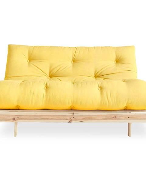 Karup Design Variabilná pohovka Karup Design Roots Raw/Yellow
