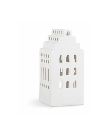 Biely keramický svietnik Kähler Design Urbania LighthoManor
