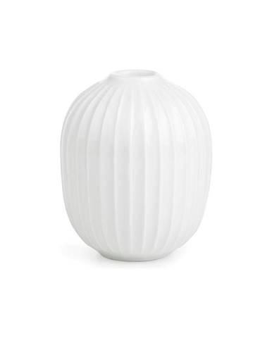 Biely porcelánový svietnik Kähler Design Hammershoi, výška 10 cm