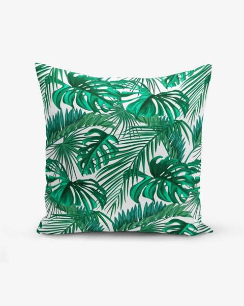 Minimalist Cushion Covers Obliečka na vankúš s prímesou bavlny Minimalist Cushion Covers Mint Green Kavanice, 45×45 cm