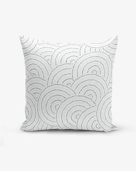 Minimalist Cushion Covers Obliečka na vankúš s prímesou bavlny Minimalist Cushion Covers Ring Modern Razza, 45×45 cm