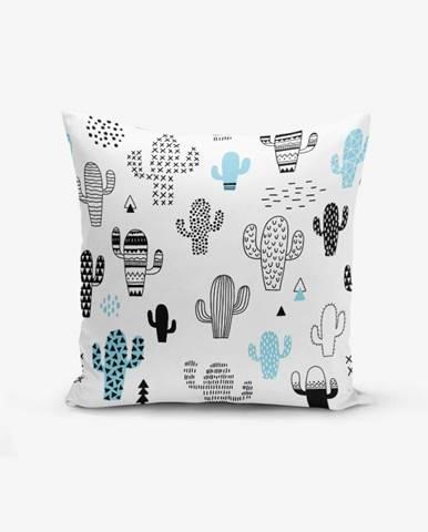 Obliečka na vankúš s prímesou bavlny Minimalist Cushion Covers With Points Col Bitkisi, 45×45 cm
