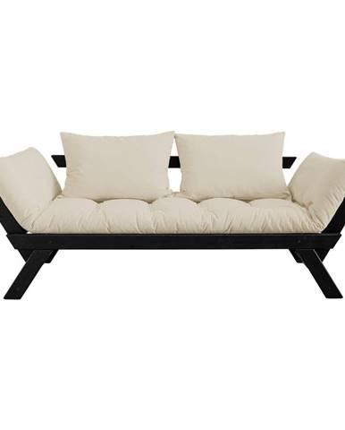 Variabilná pohovka Karup Design Bebop Black/Beige