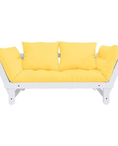Variabilná pohovka Karup Design Beat White/Yellow