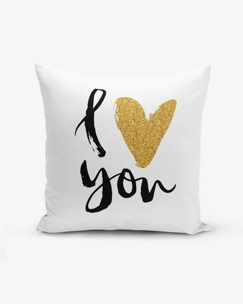 Minimalist Cushion Covers Obliečka na vankúš s prímesou bavlny Minimalist Cushion Covers, 45×45 cm