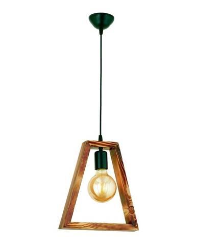 Závesné svietidlo z hrabového dreva Geometrik Triangle