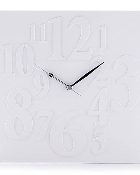 Tomasucci Biele nástenné hodiny Tomasucci Mi× White