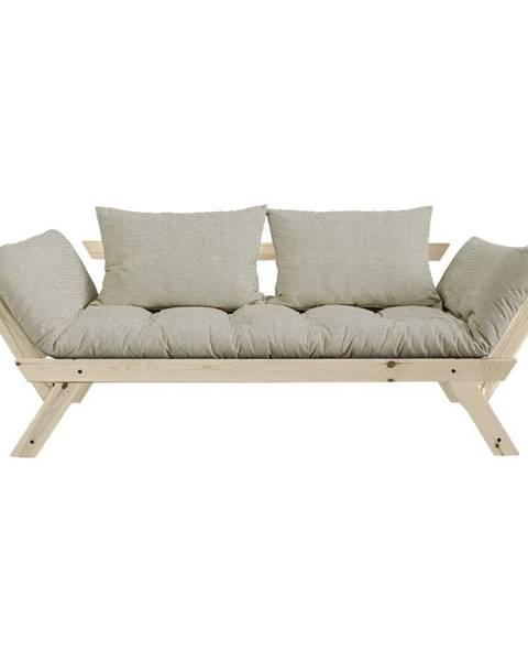 Karup Design Variabilná pohovka Karup Design Bebop Natural Clear/Linen Beige