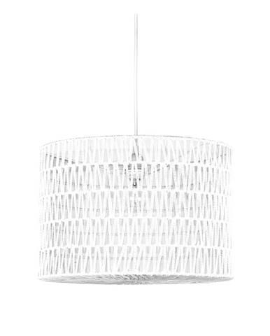 Biele stropné svietidlo LABEL51 Stripe